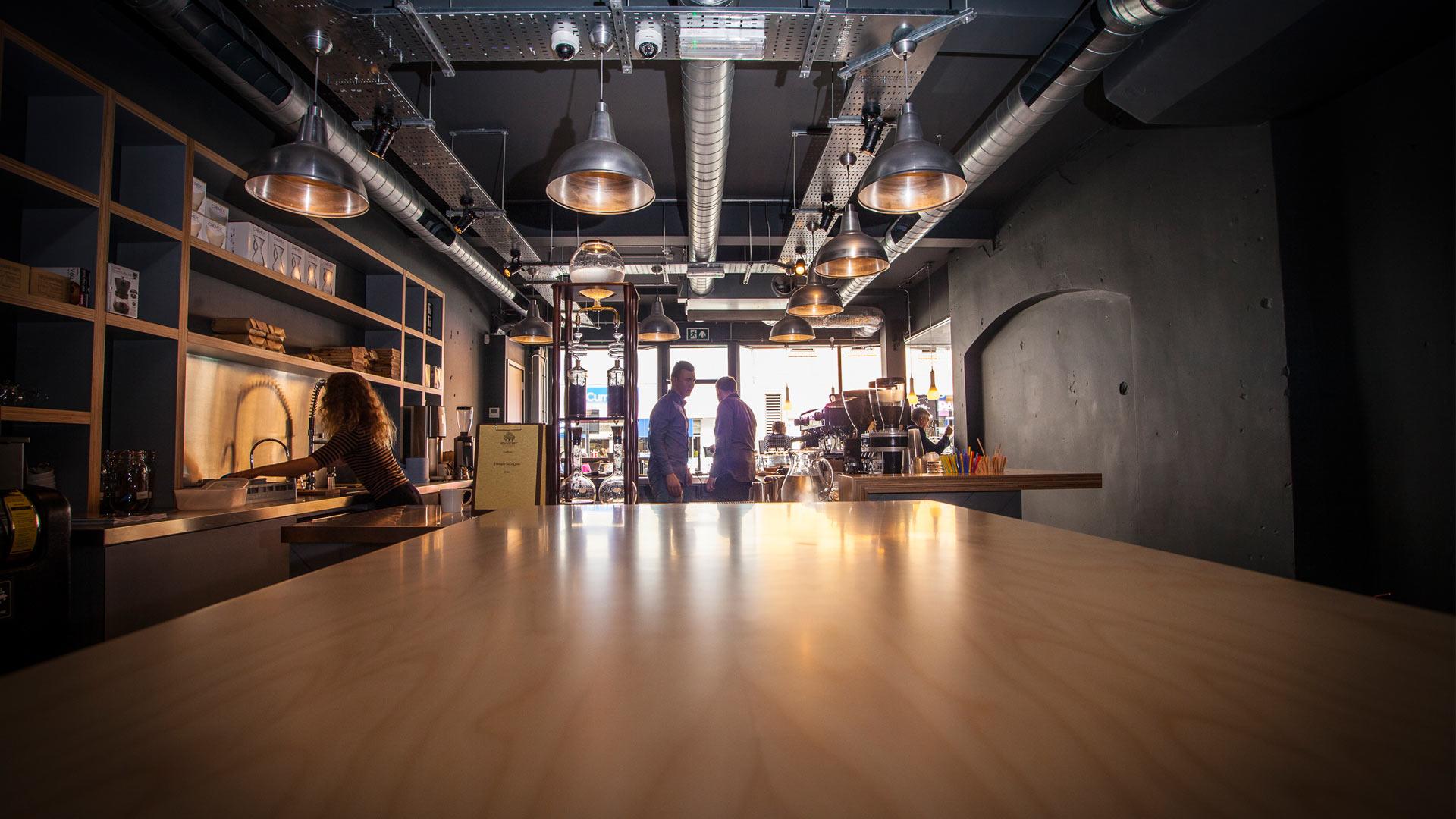 Coffee Shop Interior Design Kaafi Interior Design