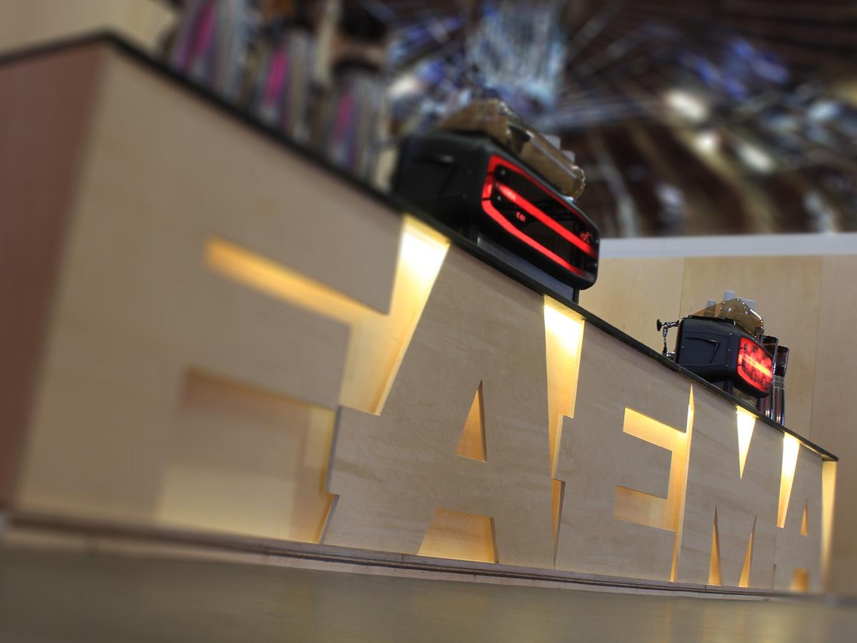 Faema exhibition stand