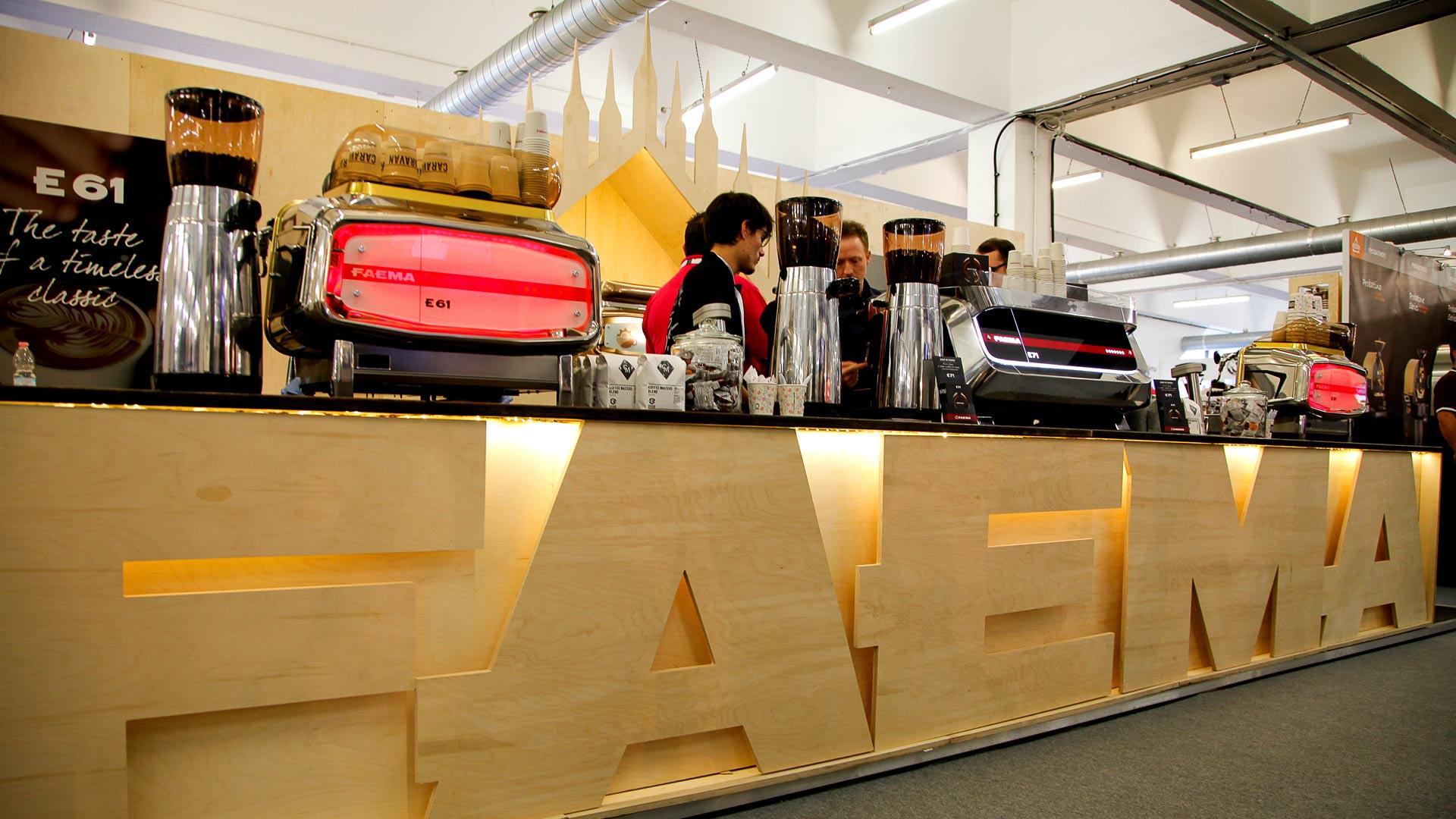 Trade Exhibition Stand Design : Faema trade stand exhibition stands design liqui