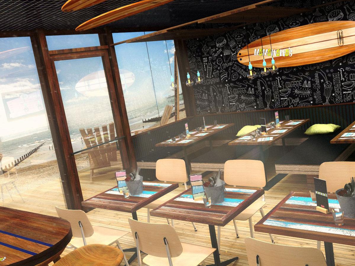 Restaurant design interior